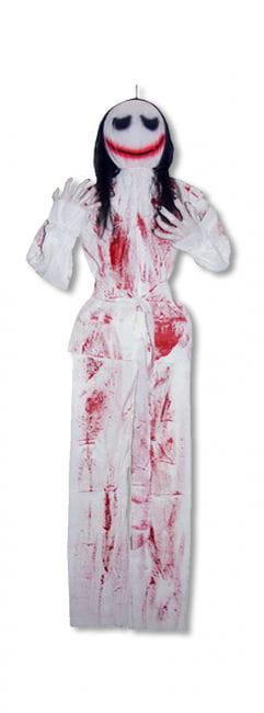 Blutige Stoffpuppe Hängefigur