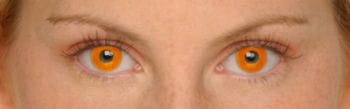 Kontaktlinsen Feuerball