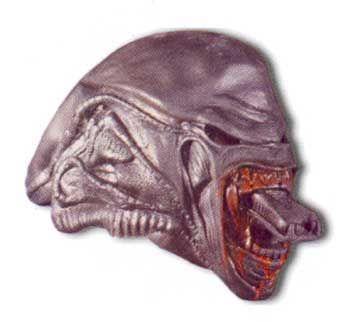 Alien Schaumlatex Maske