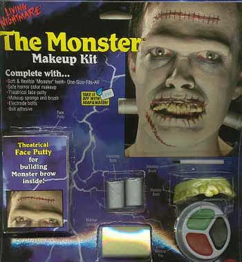 Komplett Make Up Kit Monster