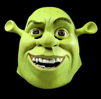 Shrek Latex Maske