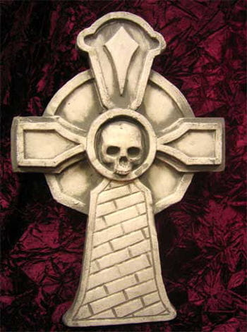 Grabstein Gothic-Kreuz