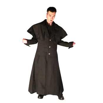 Cotton jacket blk coachman Gr.L