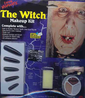 Complete Witch Make Up Kit