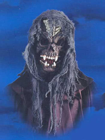 Hooded Klingone Skull