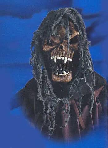 Hooded Vampire Skull