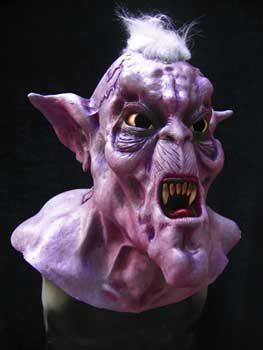 Called Široký Vampire Latex Mask