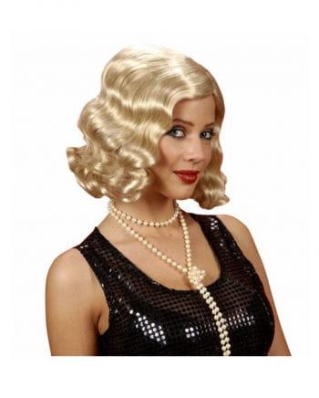 20er Jahre Perücke blond
