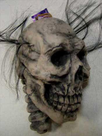 Shrunken Head Skull