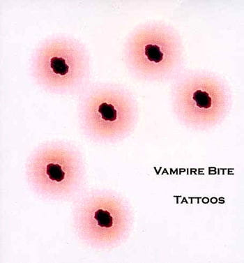 Tattoo Vampirbiss