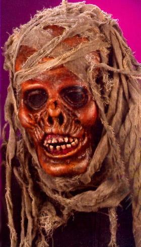 Rotten Mummy Realistic Teeth Mask