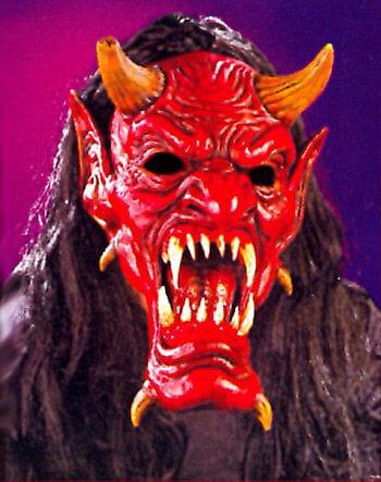 Devil Realistic Teeth Maske