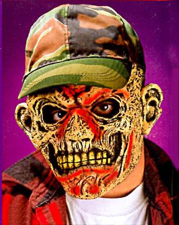 Redneck Zombie Green Barett Maske