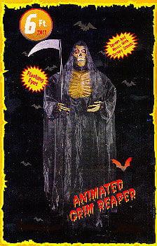 Grim Reaper 180cm Animatronic
