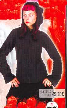Black Fleece Jacket Size M