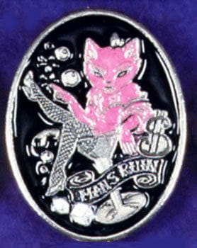 Belt Buckle Cookie Puss Man's Ruin