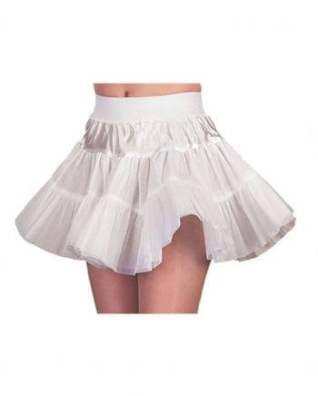 Weißer harter 50s Petticoat