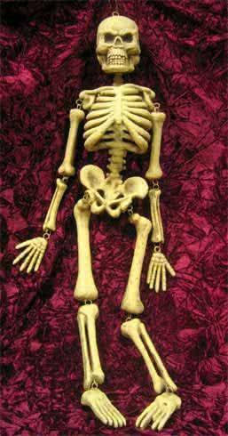 Hängendes Skelett 95cm