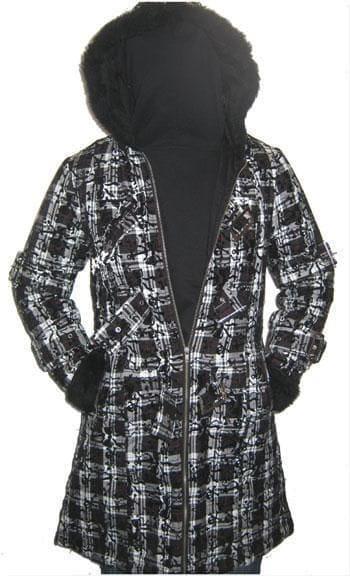 Celina Coat with Plush Hood XL