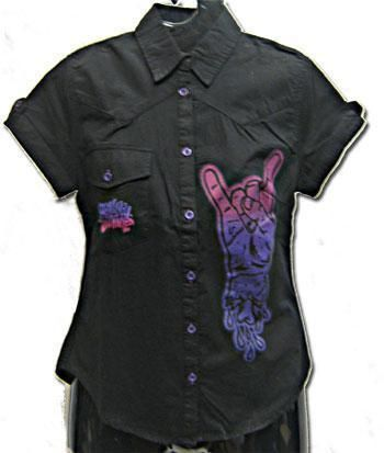 Rock on shirt Gr. S