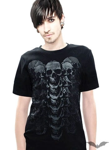 Skull T Shirt Size S
