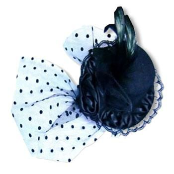 Gothic Hat Black with Veil