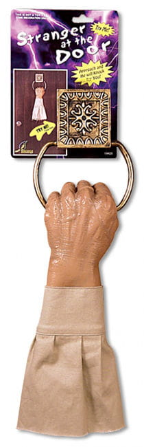 Chopped off Hand Doorknocker