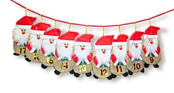 Advent Calendar Bags Santa Claus