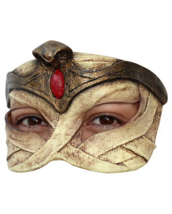 Egyptian Queen Latex Half Mask