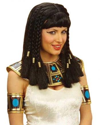 Ägyptische Perücke schwarz