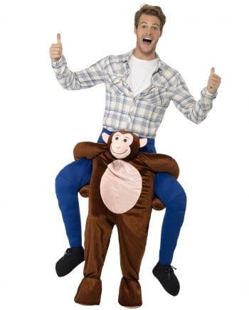 Carry Me Kostüm Reiter auf Affe