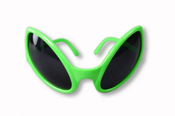 Alien glasses green