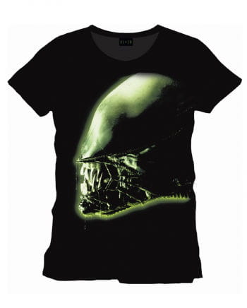 Alien Kopf Film T-Shirt