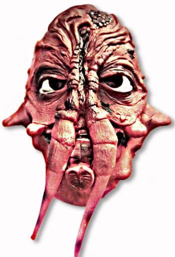 Alien Maske Monstrum rot