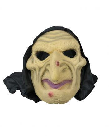 Hexen Halbmaske mit Kapuze