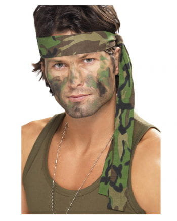 Armee Stirnband camouflage