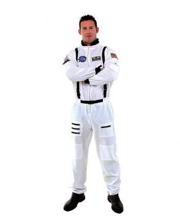 Astronauten Overall Plus Size weiß
