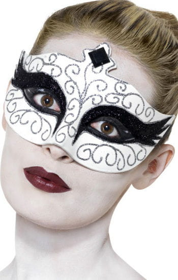 Venezianische Gothic Swan Maske