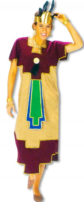 Aztec Queen Costume