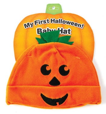 Kürbis-Mütze für Babys