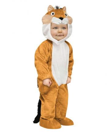 Small chipmunk costume
