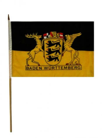 Stockflagge Bundesland Baden Württemberg
