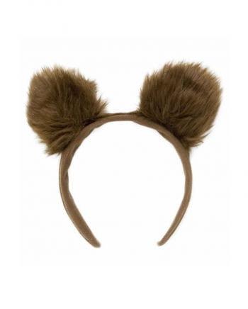 Haarreif mit Bärenohren