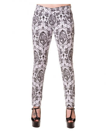 Gothic Jeans white