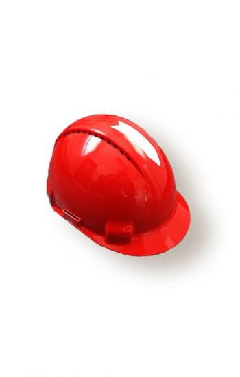 Bauarbeiterhelm rot