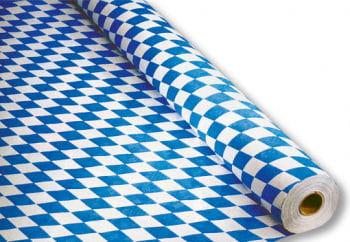 Rauten Papier Tischdecke Bayern