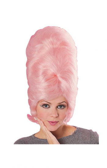 Beehive Wig Pink