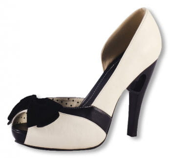 Beige Peep-toes with bow