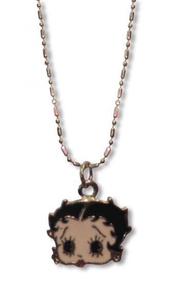 Betty Boop Halskette Pin Up Schmuck