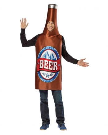 Braunes Bierflaschen Kostüm
